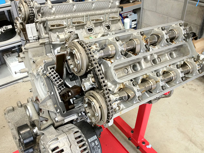 BMW Engine Rebuilding Process
